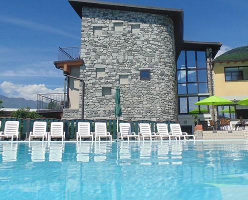 Hotel/Camping Europa Swimmingpool