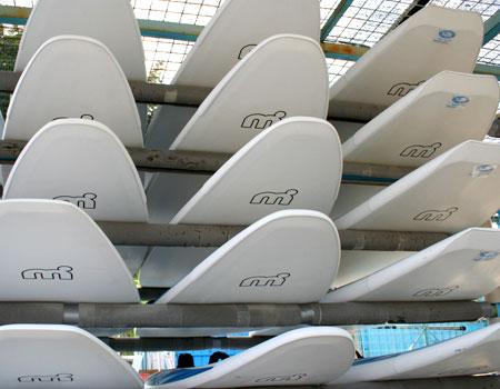 Windsurfen Einstell-/Liegeplätze