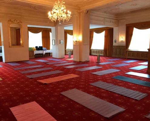 Yoga & Schweigen 2019 Flims Schweiz