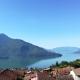 Ferienwohnung La nicchia Vercana Aussicht