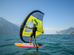 Wingfoiling Comersee